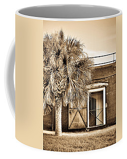 The Old Fort-sepia Coffee Mug