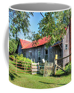 Coffee Mug featuring the photograph The Old Home Place by Lanita Williams