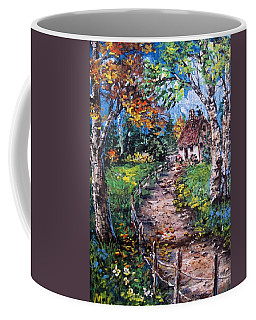 Coffee Mug featuring the painting The Old Homestead by Megan Walsh