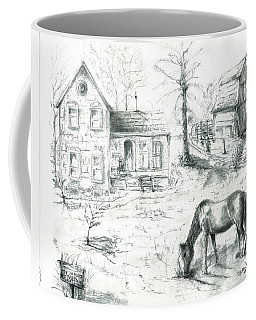 The Old Horse Farm Coffee Mug