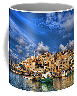 the old Jaffa port Coffee Mug