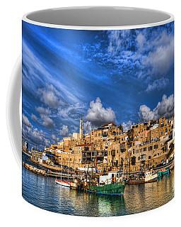 the old Jaffa port Coffee Mug