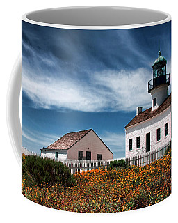 The Old Point Loma Lighthouse By Diana Sainz Coffee Mug