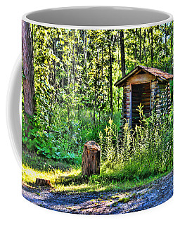 The Old Shed Coffee Mug by Cathy  Beharriell