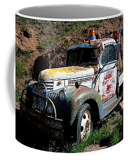 Coffee Mug featuring the photograph The Old Truck by Dany Lison