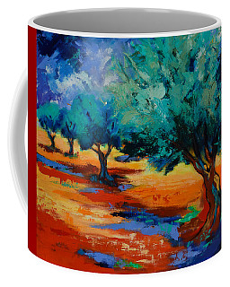 The Olive Trees Dance Coffee Mug
