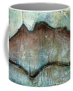 The Only Way Out Is Through Coffee Mug