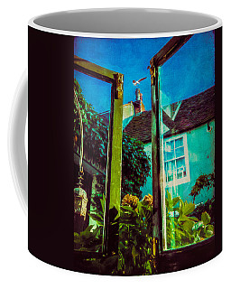 Coffee Mug featuring the photograph The Open Window by Chris Lord