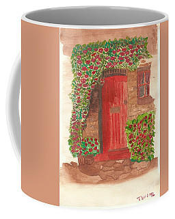 The Orange Door Coffee Mug
