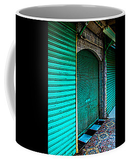 Marrakech Aqua Coffee Mug