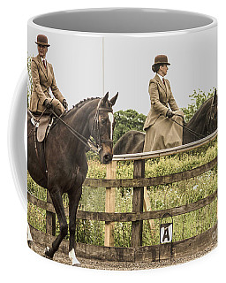 The Other Side Of The Saddle Coffee Mug by Linsey Williams