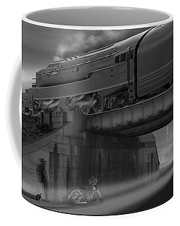The Overpass 2 Panoramic Coffee Mug