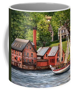 The Paint Factory And The Ardelle Coffee Mug by Eileen Patten Oliver