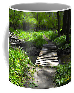 The Painted Forest From The Series The Imprint Of Man In Nature Coffee Mug