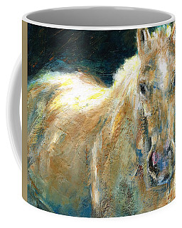 The Palomino Coffee Mug by Frances Marino