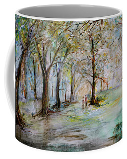 The Park Bench Coffee Mug