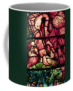 The Pelicans In Stained Glass Coffee Mug