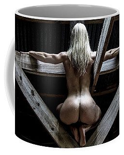 Coffee Mug featuring the photograph The Perch by Mez