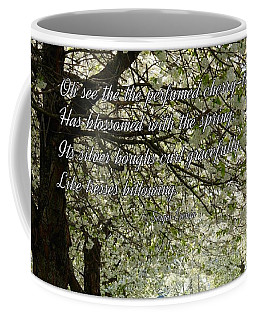 The Perfumed Cherry Tree 1 Coffee Mug