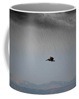 The Persevering Pelican Coffee Mug
