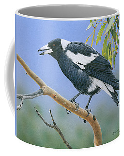 The Pied Piper - Australian Magpie Coffee Mug
