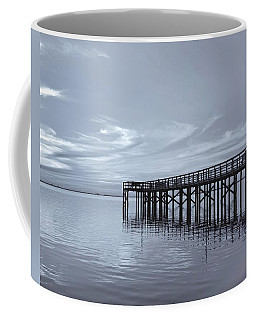 Coffee Mug featuring the photograph The Pier by Kim Hojnacki