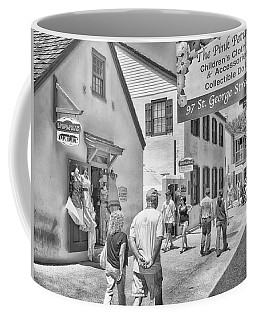 Coffee Mug featuring the photograph The Pink Petunia by Howard Salmon