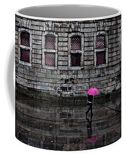 The Pink Umbrella Coffee Mug