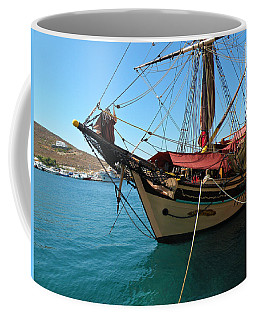 The Pirate Ship  Coffee Mug by Micki Findlay