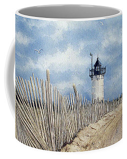 The Pole Line To Race Point Light Coffee Mug