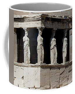 The Porch Of Maidens Coffee Mug