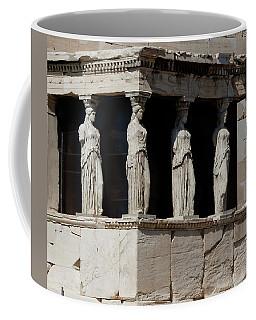 The Porch Of Maidens Coffee Mug