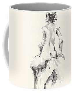 The Pose Coffee Mug by Melinda Dare Benfield