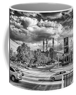 Coffee Mug featuring the photograph The Power Station by Howard Salmon