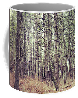 Coffee Mug featuring the photograph The Preaching Of The Pines by Kerri Farley