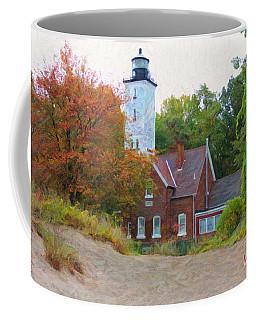 The Presque Isle Lighthouse Coffee Mug