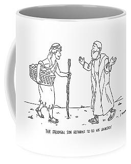The Prodigal Son Returns To Do His Laundry Coffee Mug
