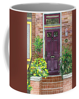 The Purple Door Coffee Mug