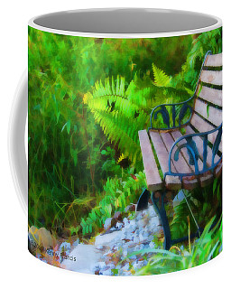 Coffee Mug featuring the photograph The Quiet Spot by Kenny Francis