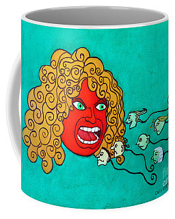 The Race. Coffee Mug by Don Pedro De Gracia