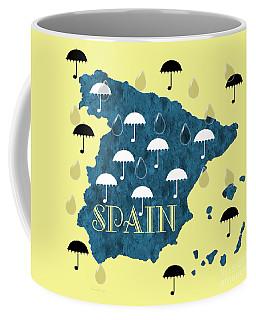 The Rain In Spain Coffee Mug