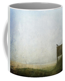The Raven And The Beach Coffee Mug