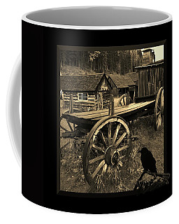 The Raven Flies Straight Coffee Mug