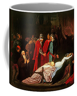 The Reconciliation Of The Montagues And The Capulets Over The Dead Bodies Of Romeo And Juliet Oil Coffee Mug