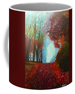 The Red Cathedral - A Journey Of Peace And Serenity Coffee Mug by Belinda Low