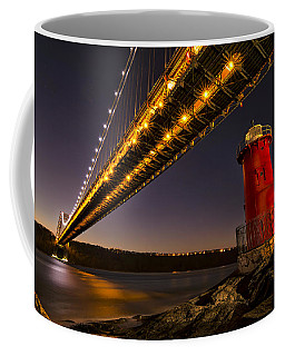 The Red Little Lighthouse Coffee Mug