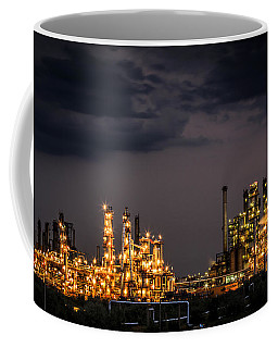 The Refinery Coffee Mug by Mihai Andritoiu