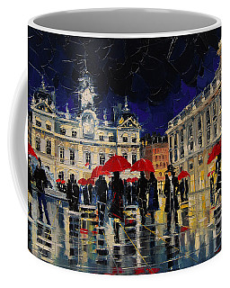 The Rendezvous Of Terreaux Square In Lyon Coffee Mug