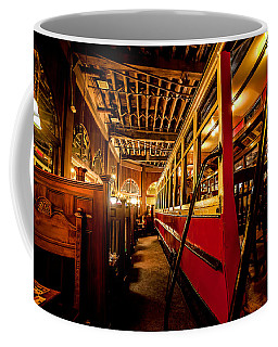 The Restaurant Trolley  Coffee Mug by Steven Reed