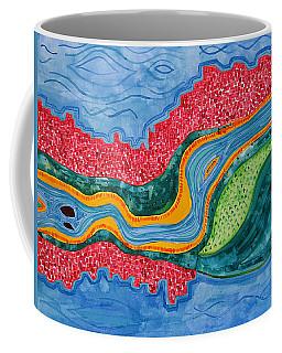 The Riffles Original Painting Coffee Mug